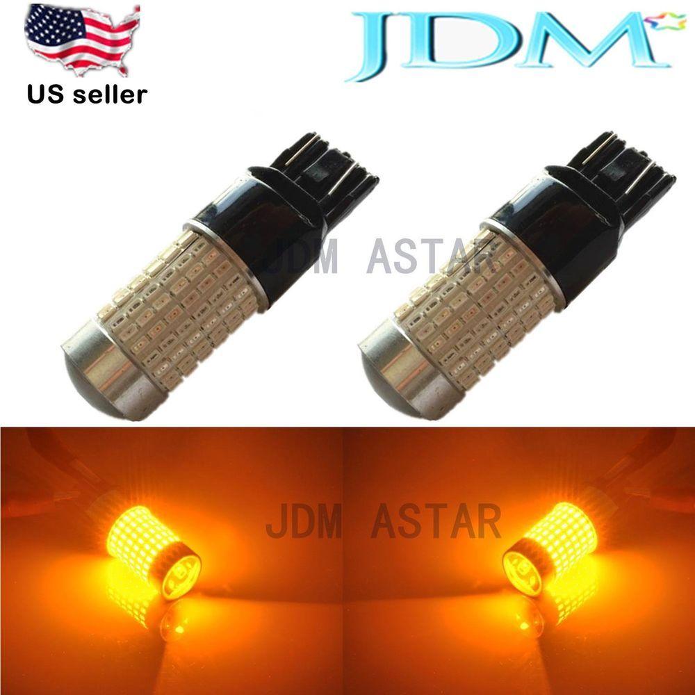 Jdm Astar 144 Smd 7443 Amber Truck Car Turn Signal Blinker Corner Light Led Bulb Jdmastar Led Leuchten