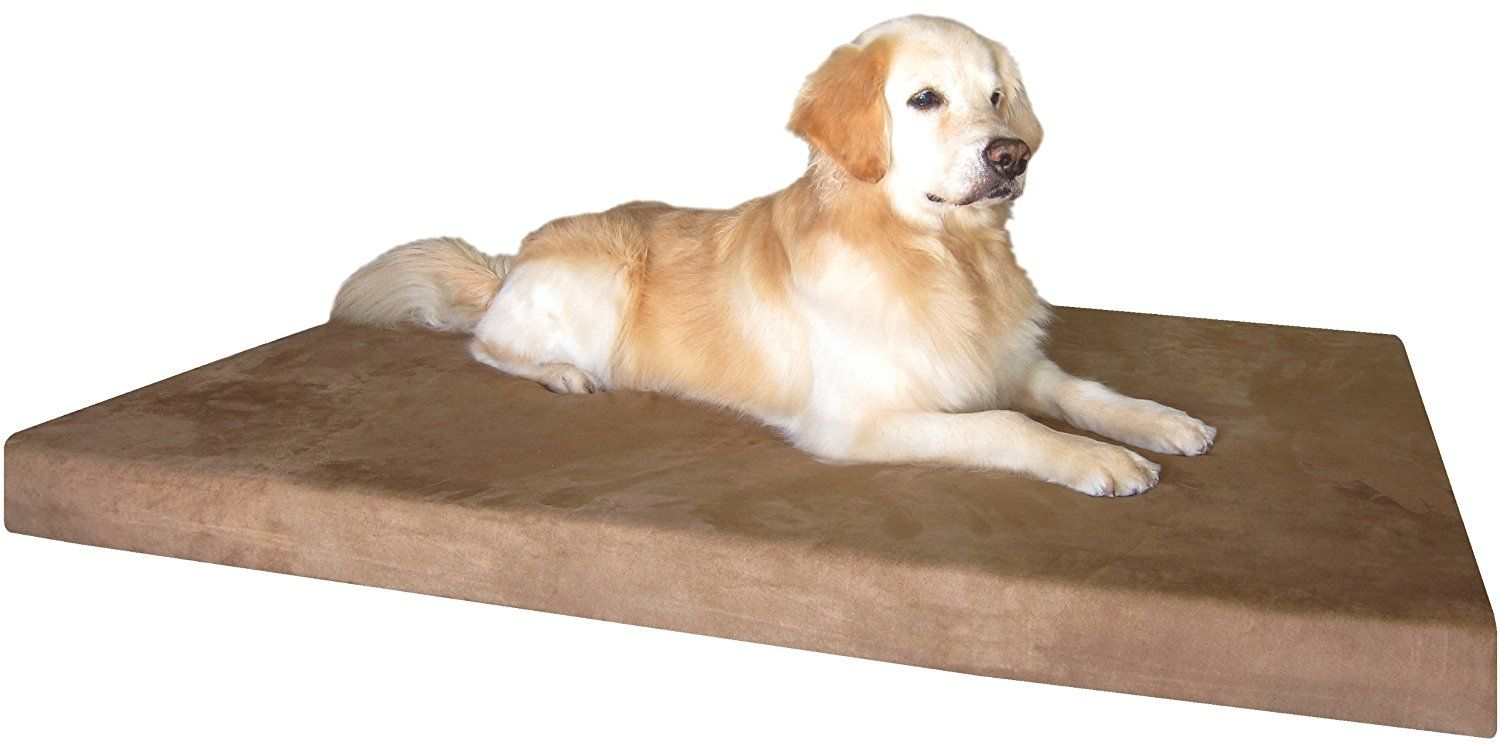 Dogbed4less Xxlarge Memory Foam Dog Bed With Durable Suede Cover And