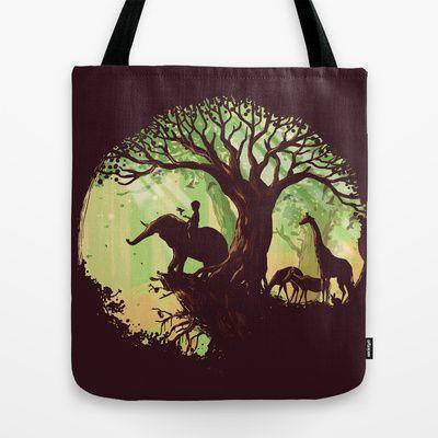 The jungle says hello Tote Bag by Budi Satria Kwan -  いいのありすぎて、選べない。