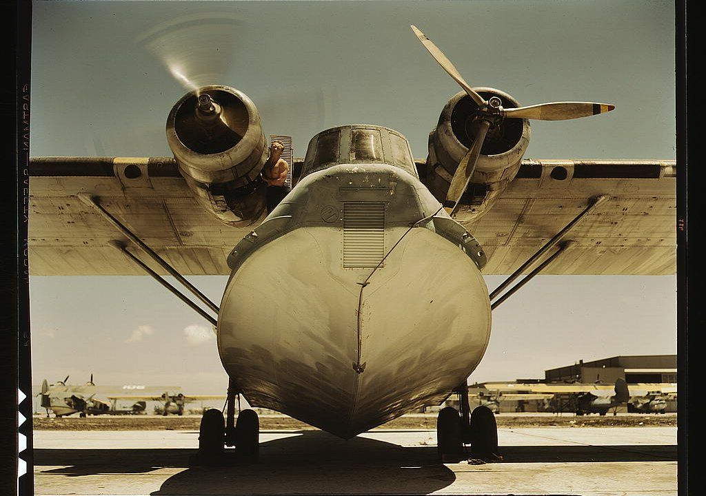 Snapshot Flying Boat Faceon Air & Space Magazine