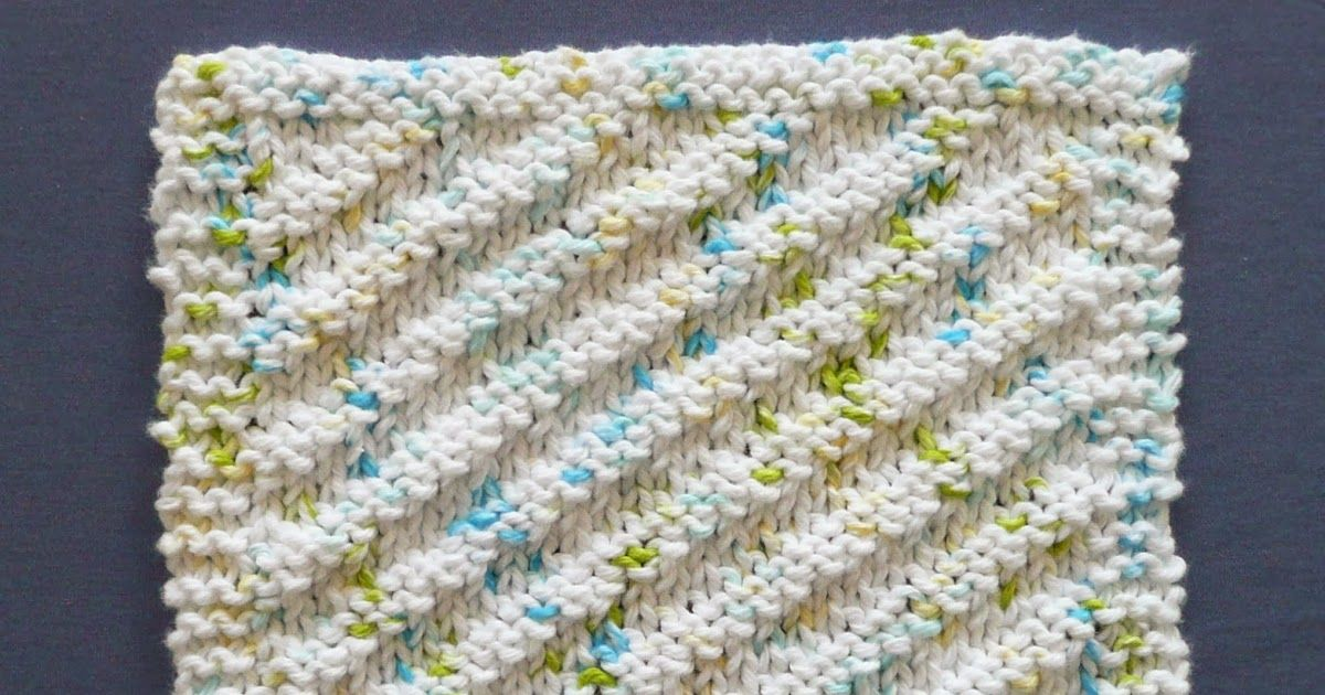blog with free patterns for dishcloths using one ounce of yarn ...