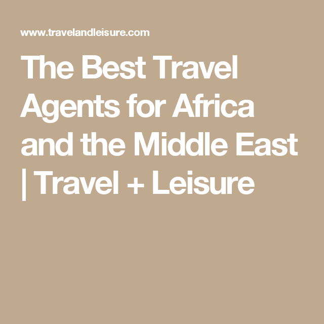 These Are The Best Travel Agents For Booking Trips To