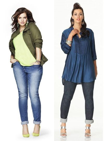 Photo of Clothing for overweight women: Perfect jeans (…