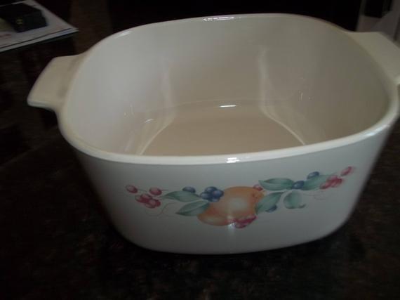 Abundance ,Corning Ware A-3-B, 3 Quart /3Liter  Casserole Dish #dishware