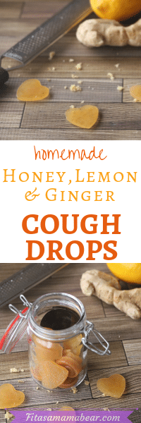 Made with only four ingredients, these honey lemon homemade cough drops are natural sore throat remedy. These DIY throat lozenges are both healing and soothing. Honey based and made with immune-boosting ingredients these they're an easy way to relieve a sore throat (though this elderberry homemade cough syrup is a helpful option too!). #coldremedy #honey #remediesforsorethroat #allnatural #homemadecoughdrops #coughdrops #naturalremedy