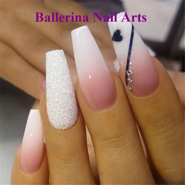 Ballerina Nails On Trend 1 Ballerina Nails Ballerina Nails Designs Long Acrylic Nails