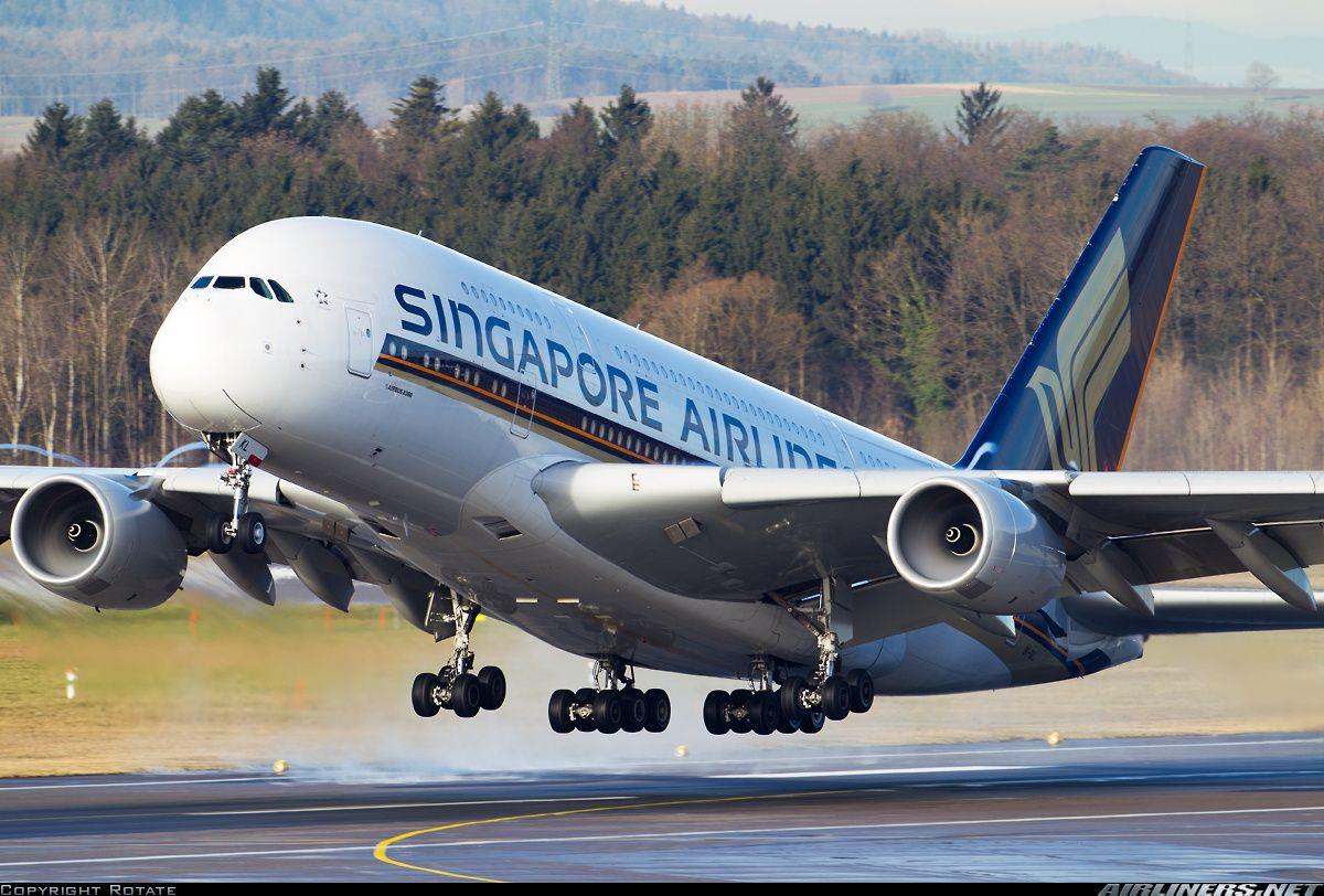 Singapore Airlines Airbus A380841 Aviones
