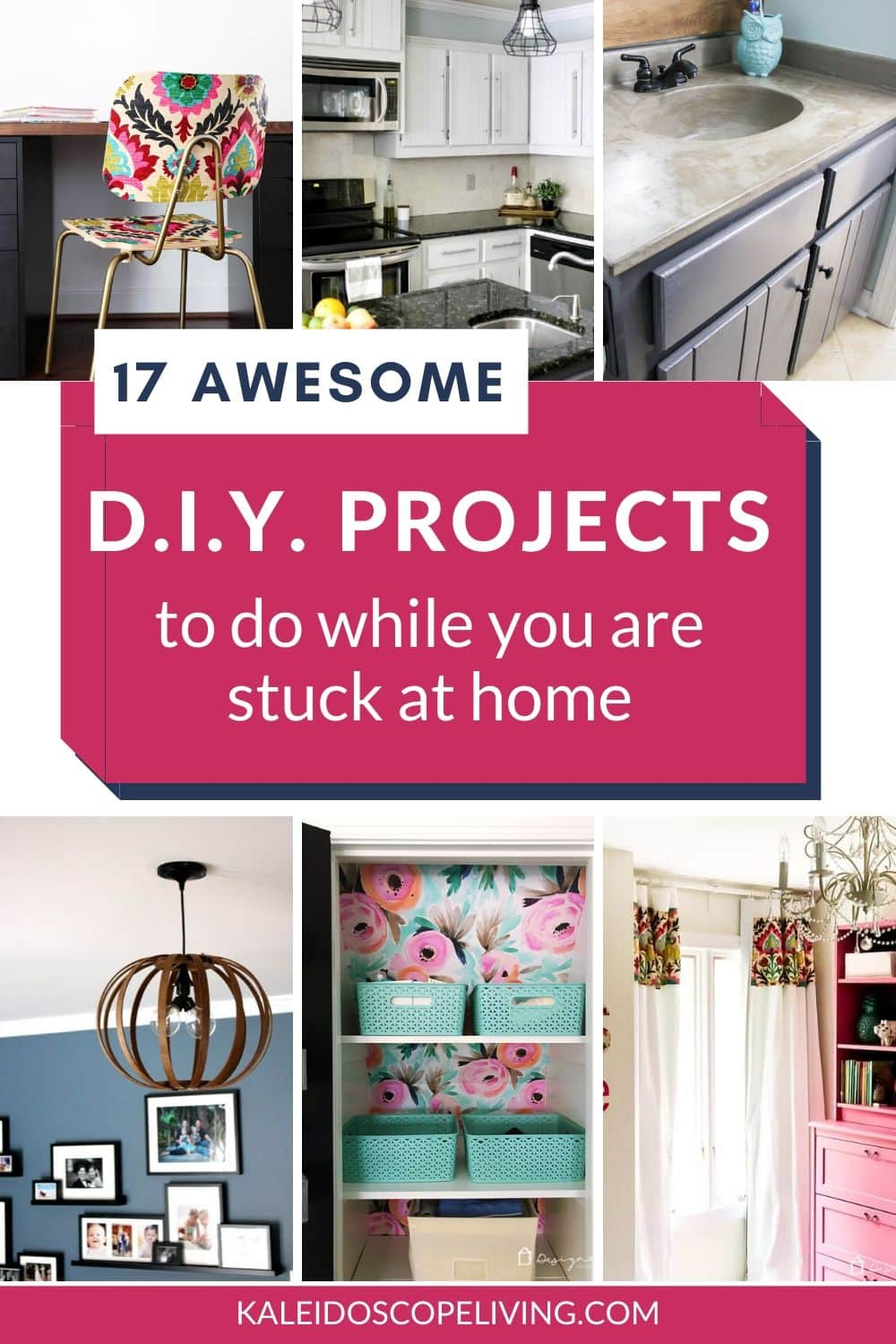 17 Easy Diy Projects To Do While You Re Stuck At Home Kaleidoscope Living In 2020 Easy Diy Diy Projects Small Diy Projects