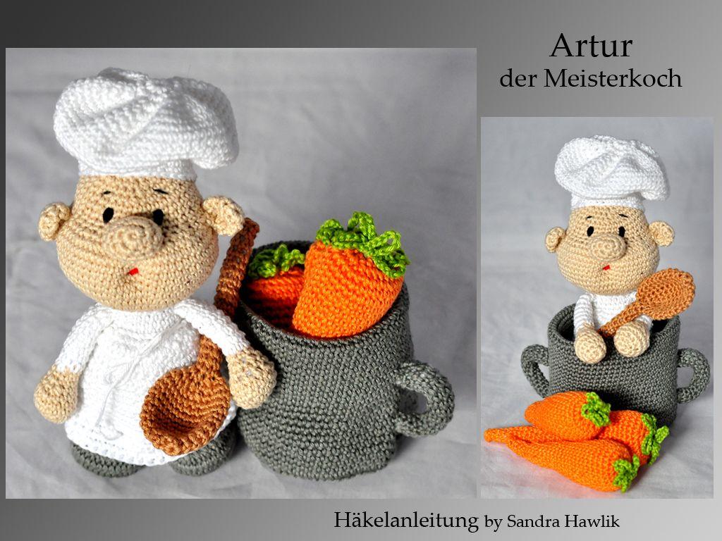 Häkelanleitung, DIY - Koch Artur - Ebook, PDF, deutsch oder englisch ...