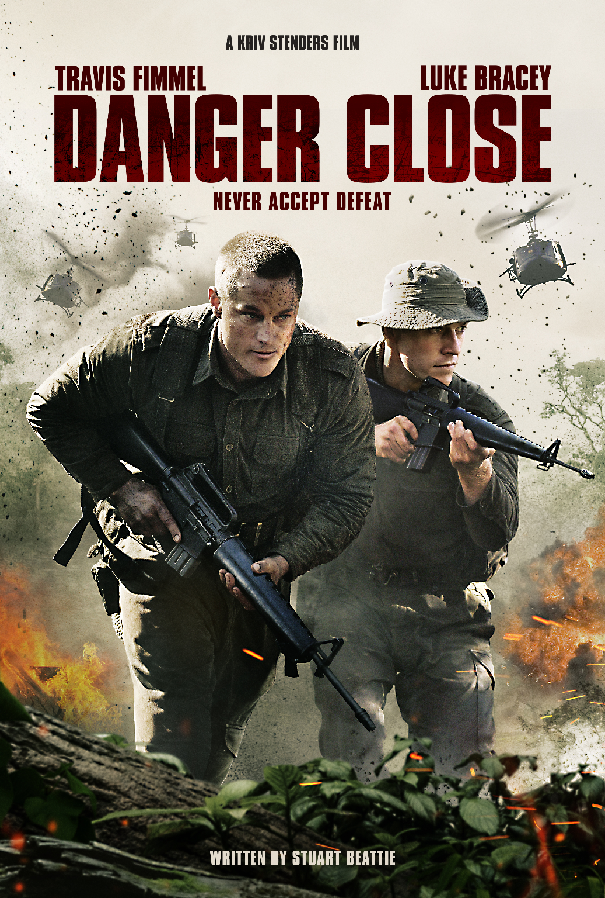 Travis Fimmel Fights For A Triumphant Future In Danger Close Itunes Download Giveaway Closer Movie Travis Fimmel Movies