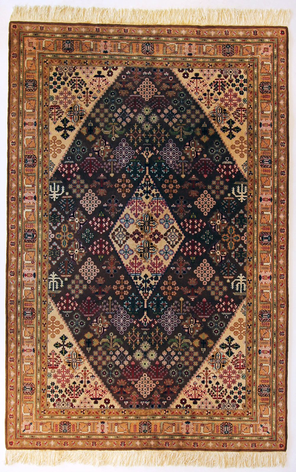 215 Persian Joshegan Circa 1950 6 X9 3 Rugs Carpets