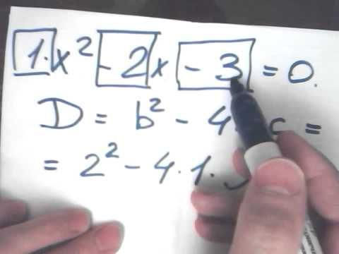 Что такое дискриминант и как его решать. Случайный вопрос Решение квадратных уравнений. Дискриминант #repetitor po #matematike o #rabote s #репетитор Решение квадратных уравнений | Статьи #skolko #budet Решение квадратных уравнений