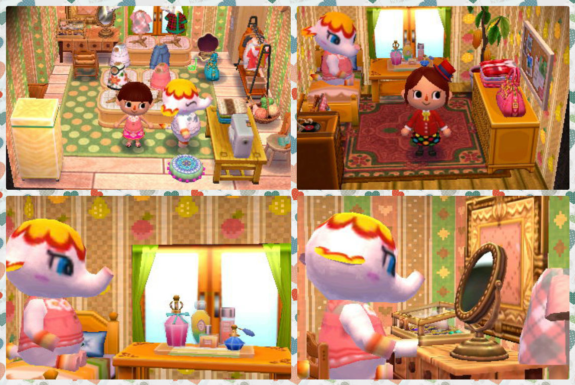 """Animal Crossing: Happy Home Designer- Margie- """"A Place"""