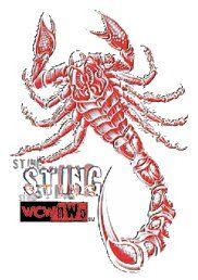 Sting Logo 2 Wcw Wwf Logo Wcw Wwf