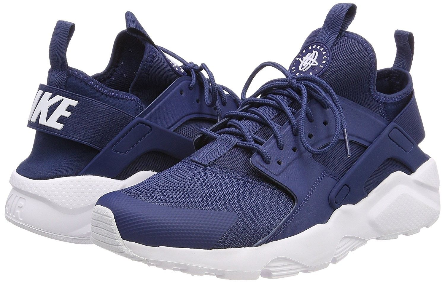 outlet boutique amazon nice cheap Men's Nike Air Huarache Run Ultra Low-Top Sneakers Blue ...