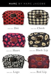 Marc Jacobs Makeup Bags Heartwasmychoice Toocute