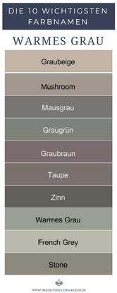 Warme Grautone Sind Graubeige Mushroom Mausgrau Graugrun Graubraun Taupe Zinn Warmes Grau French Grey Stone Mausgrau Warmes Grau Grau Und Beige