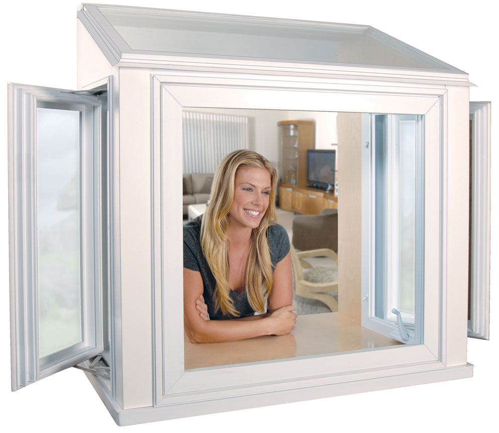 Look How Happy You Would Be With A Greenhouse Window