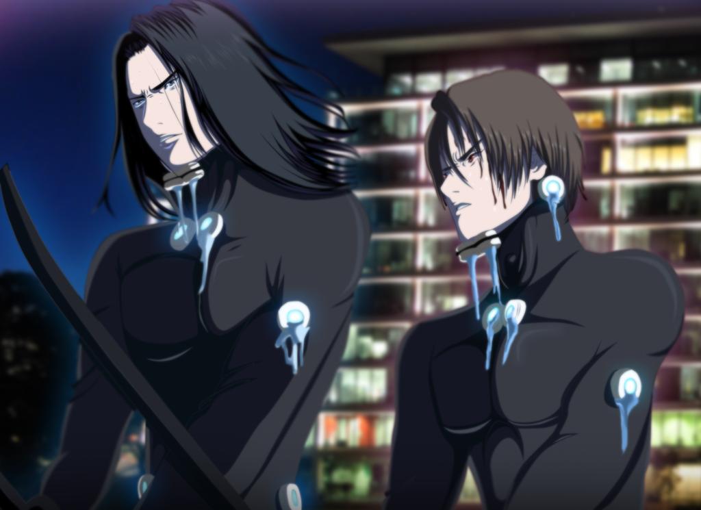 Gantz Izumi and Kurono 001 by