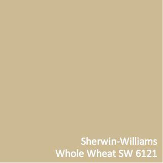 Sherwin Williams Whole Wheat Sw 6121