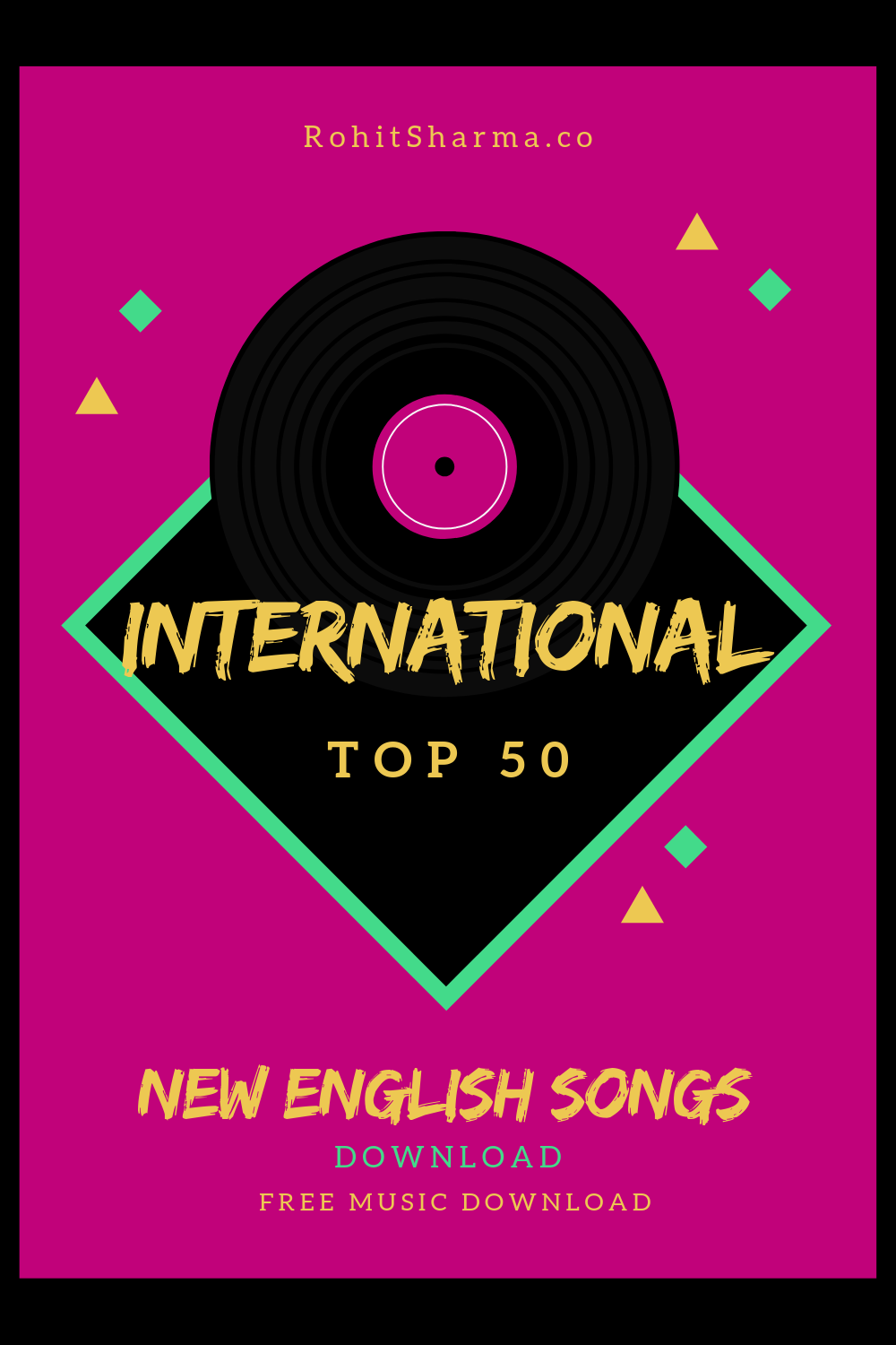 International Top 50 (With images) Songs, Top 50 songs
