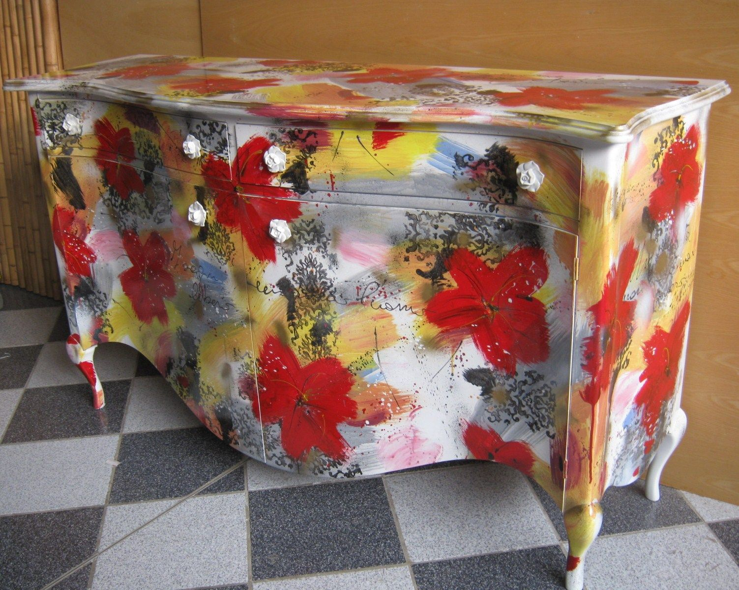 Mobili Pitturati ~ Mobili dipinti a mano buscar con google renkli mobilya pinterest
