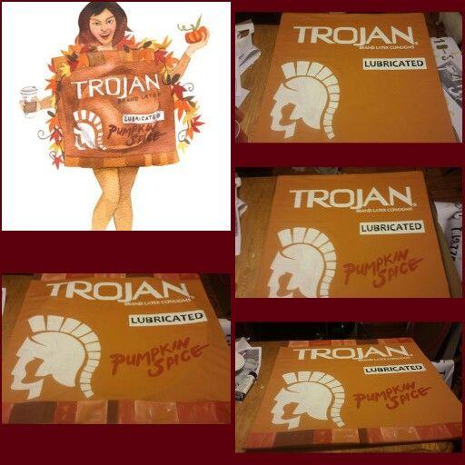 Costume Trojan Pumpkin Spice