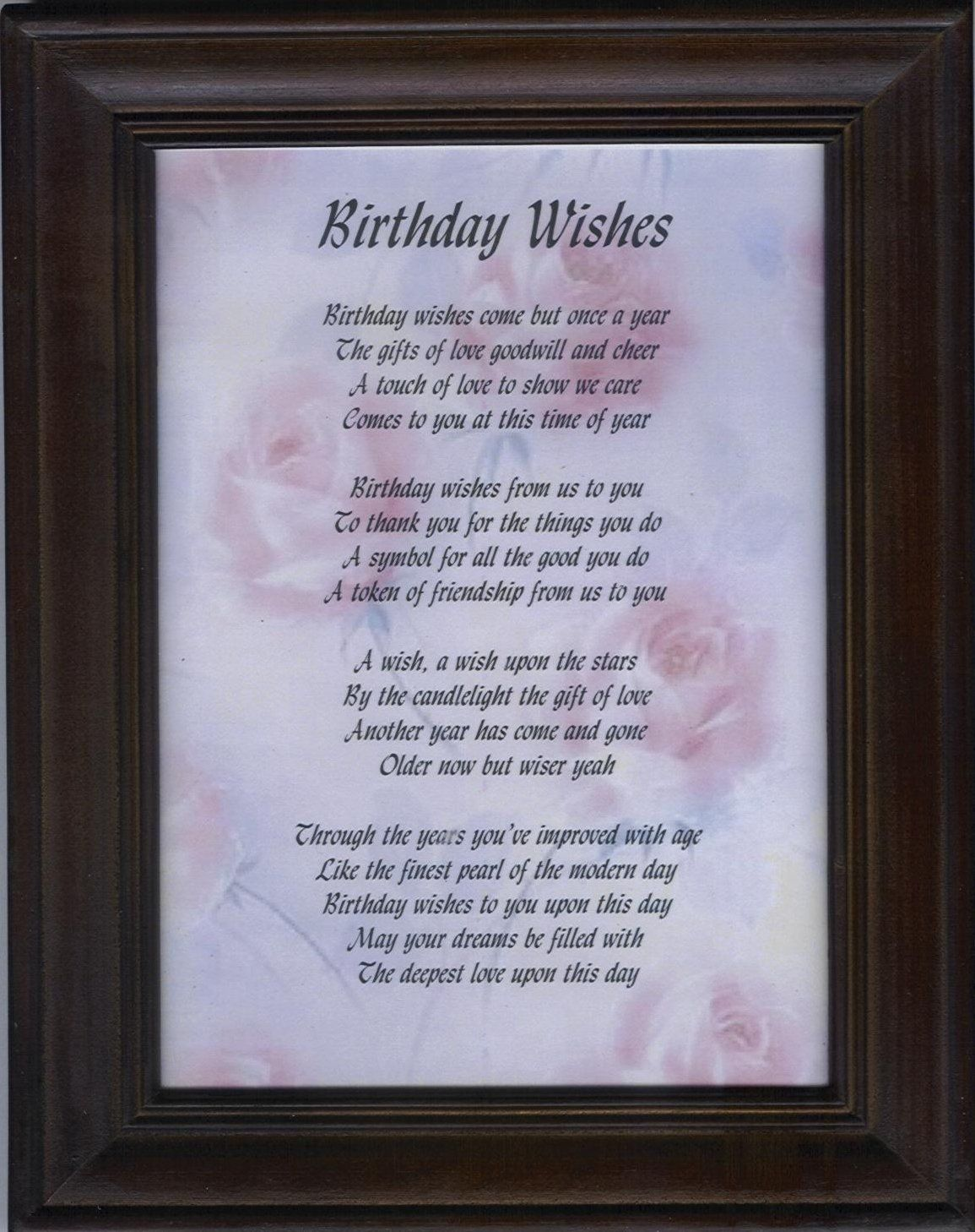 Birthday Wishes Inspirational Friend ~ Inspirational birthday wishes family you have many more and may all your come true
