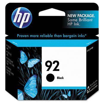Hp 92, (c9362wn) Black Original Ink Cartridge