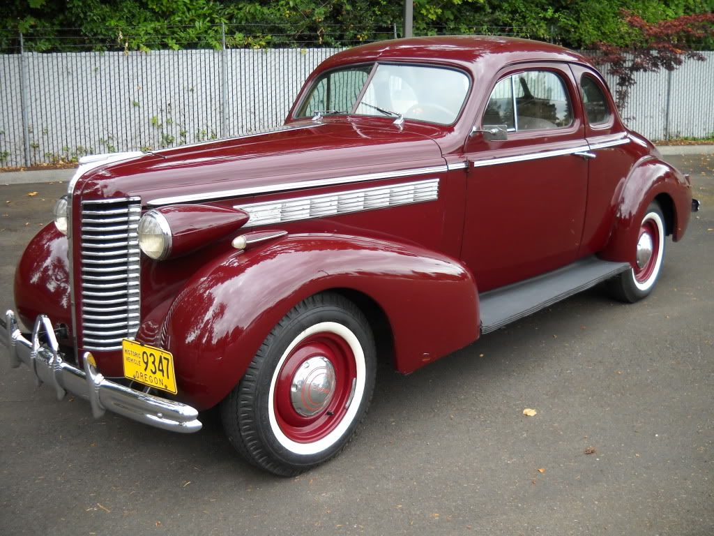 1938 Buick Coupe Interior Maintenance/restoration of old/vintage ...