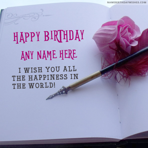 Beautiful Birthday Quotes Wishes With Name