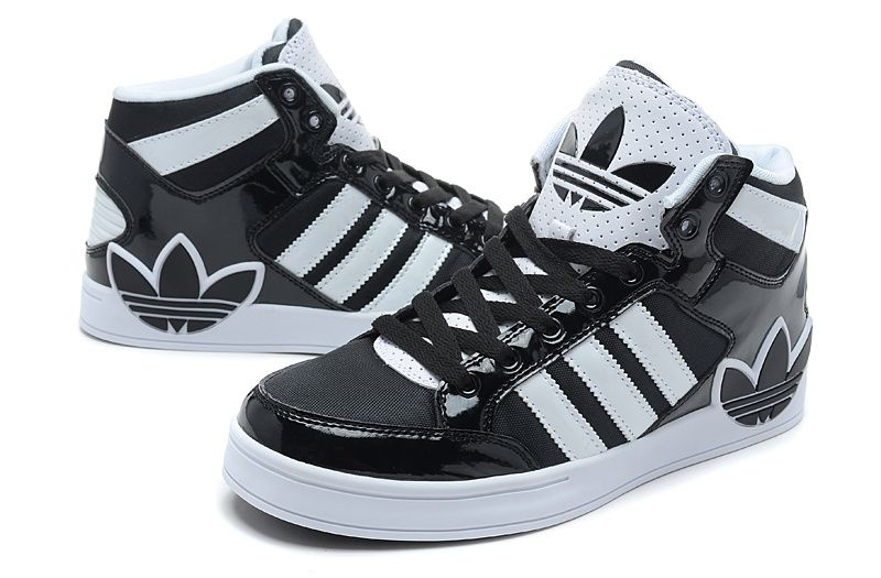 Adidas Shoes For Girls High Tops Black And White