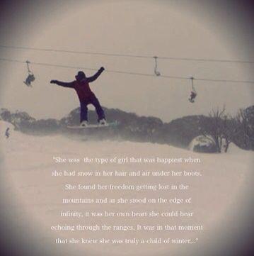 snowboard sprüche englisch