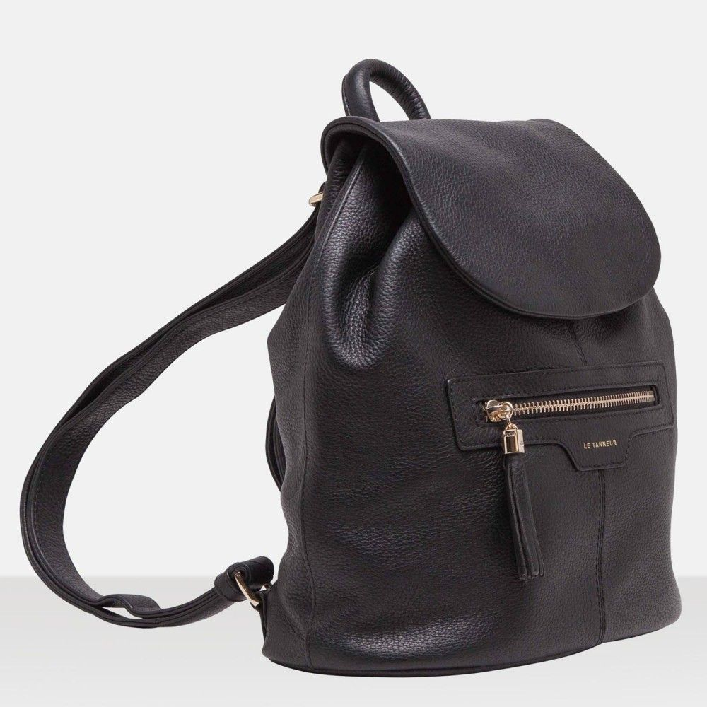 sac a dos aussois noir sac dos femme le tanneur f a s h i o n pinterest. Black Bedroom Furniture Sets. Home Design Ideas