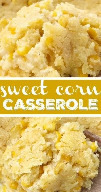 Classic sweet corn casserole is a comforting side dish that is also great for a Holiday dinner. This corn casserole uses creamed corn, gold n' white corn, sour cream, and a package of cornbread mix. Ingredients #easymexicanfoodrecipes