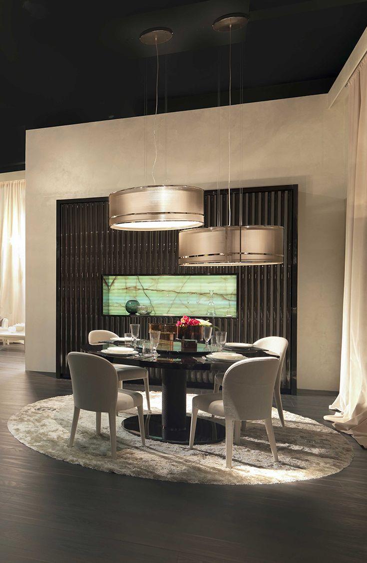 Dining Room Set At Villa Livia By Fendi Casa Ambiente