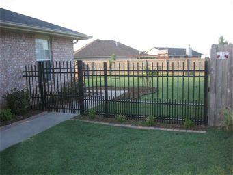 Ameristar S Echelon Plus Puppy Panel Decorative Aluminum Fence For