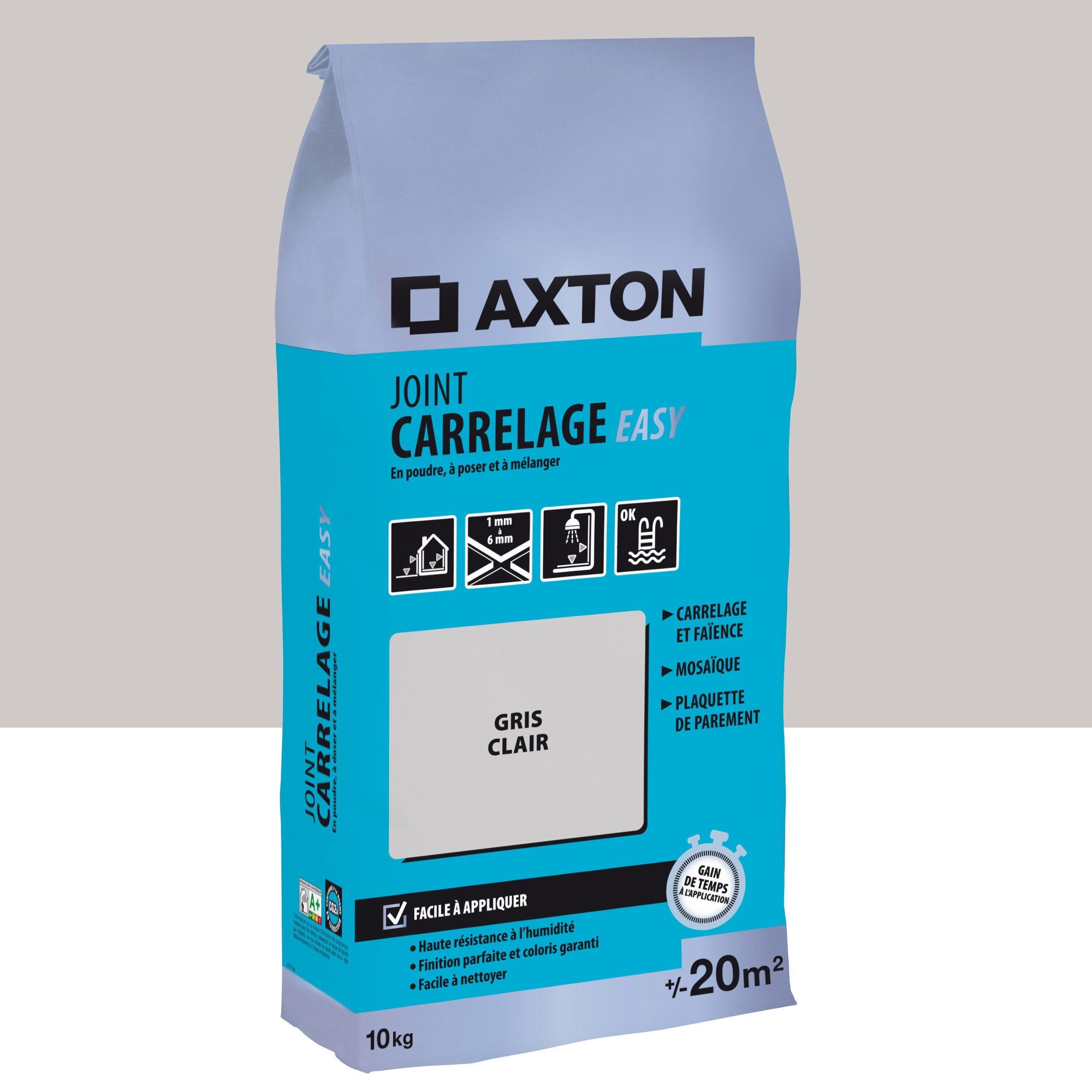 Joint Poudre Axton Easy Gris 20m² 10kg En 2019 Products