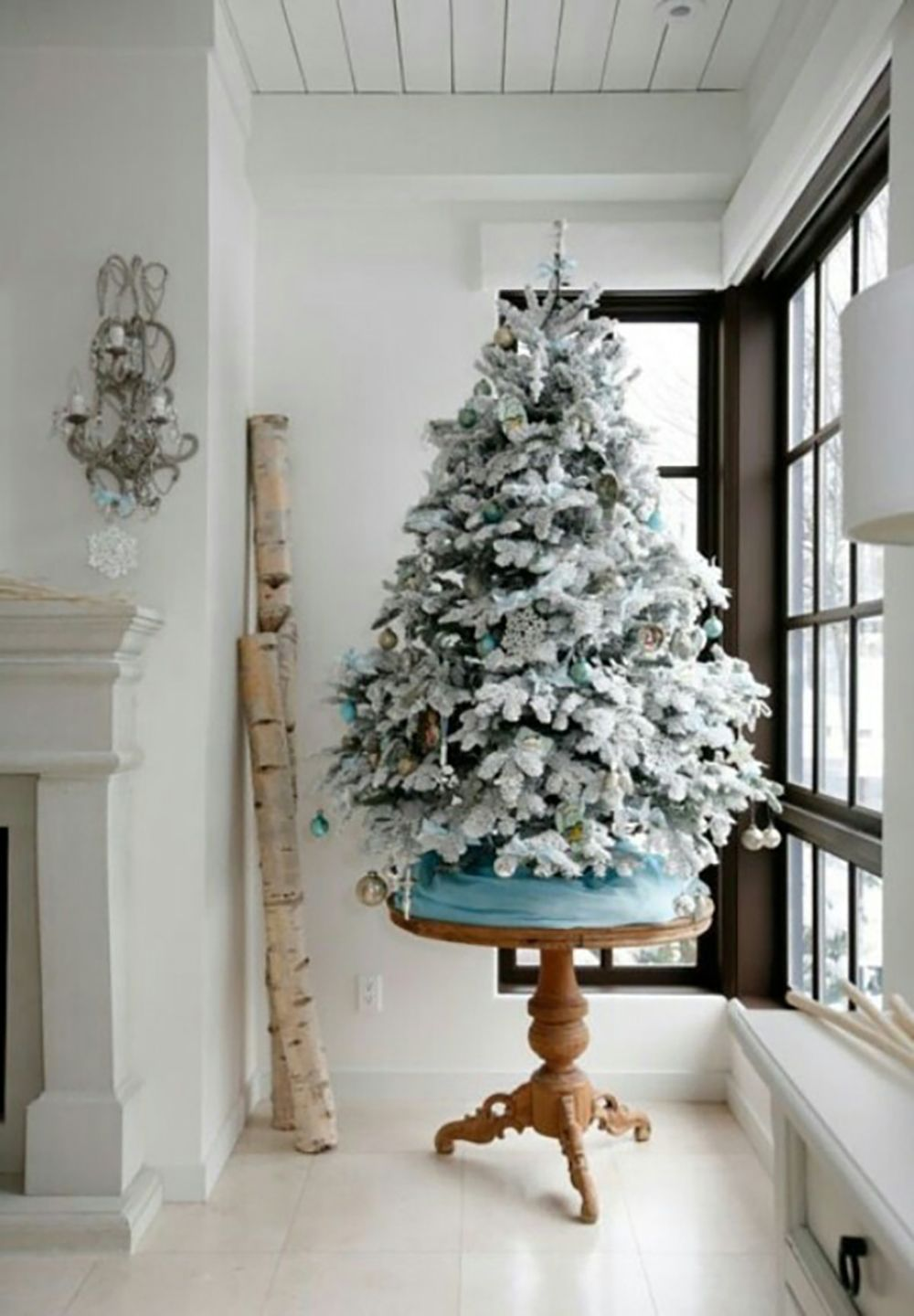 12 of the Best Flocked Christmas Trees in Every Size