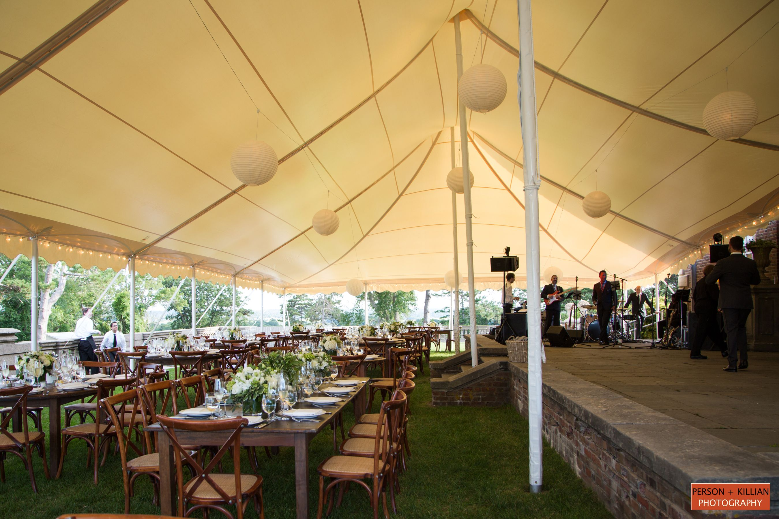 Sperry Tents Boston Wedding Photography Outdoor Tented Reception Crane Estate Ipswich MA