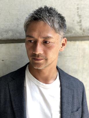 2019年秋 メンズ ベリーショートの髪型 ヘアアレンジ 人気順 28