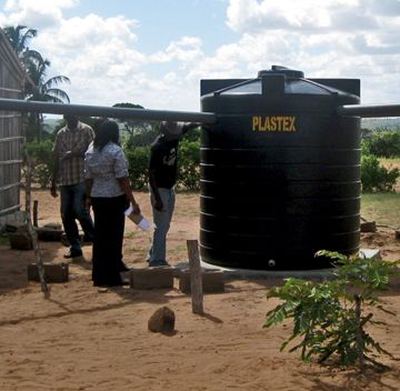 Give Clean Water With A Rainwater Harvesting System Help Childfund Install Low Cost Easy To Main Water Catchment Rainwater Harvesting System World Water Day