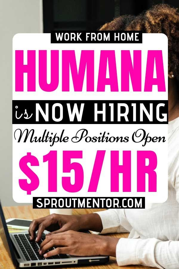 Legitimate Work From Home Jobs Hiring Now (Humana & Others