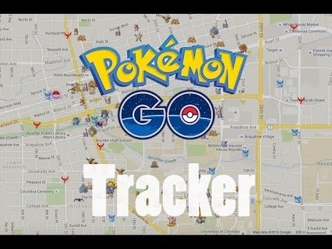 Pokemon Go Tracking App (PoGoMap) | Pokemon Go! | Pokemon go