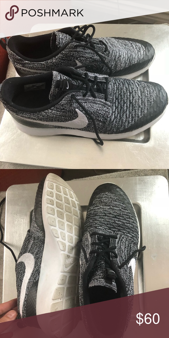 b00b0350e4f Nike NM Roshe Flyknit Literally worn twice out and about. Women s size 9.  No damages. First image is slightly different