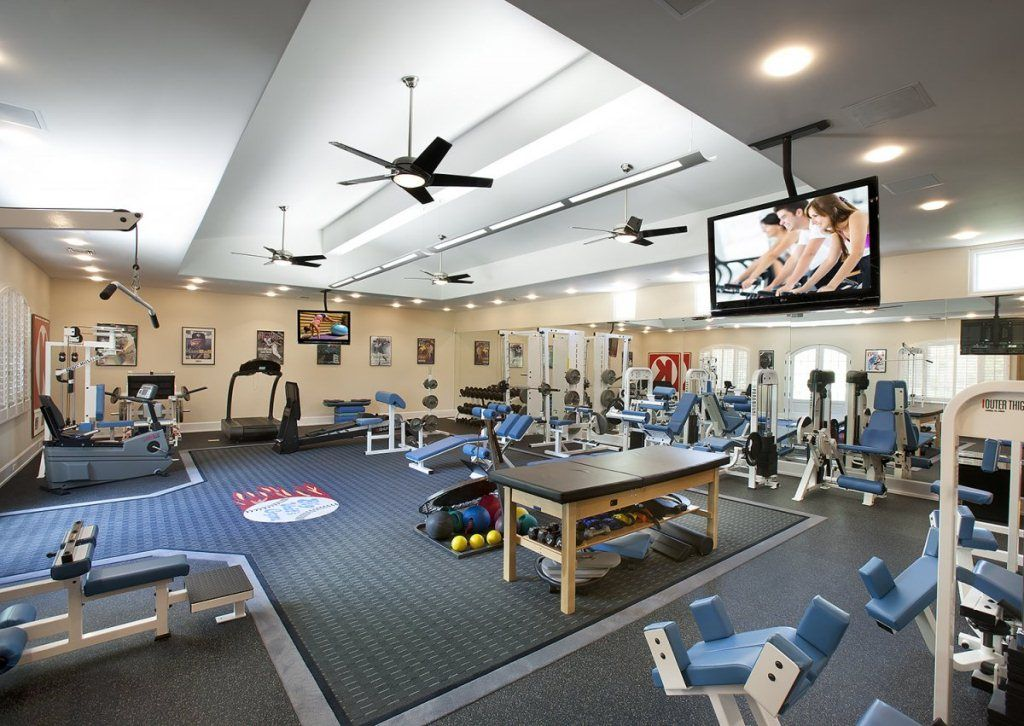 Luxury home gym design ideas for fitness enthusiast home