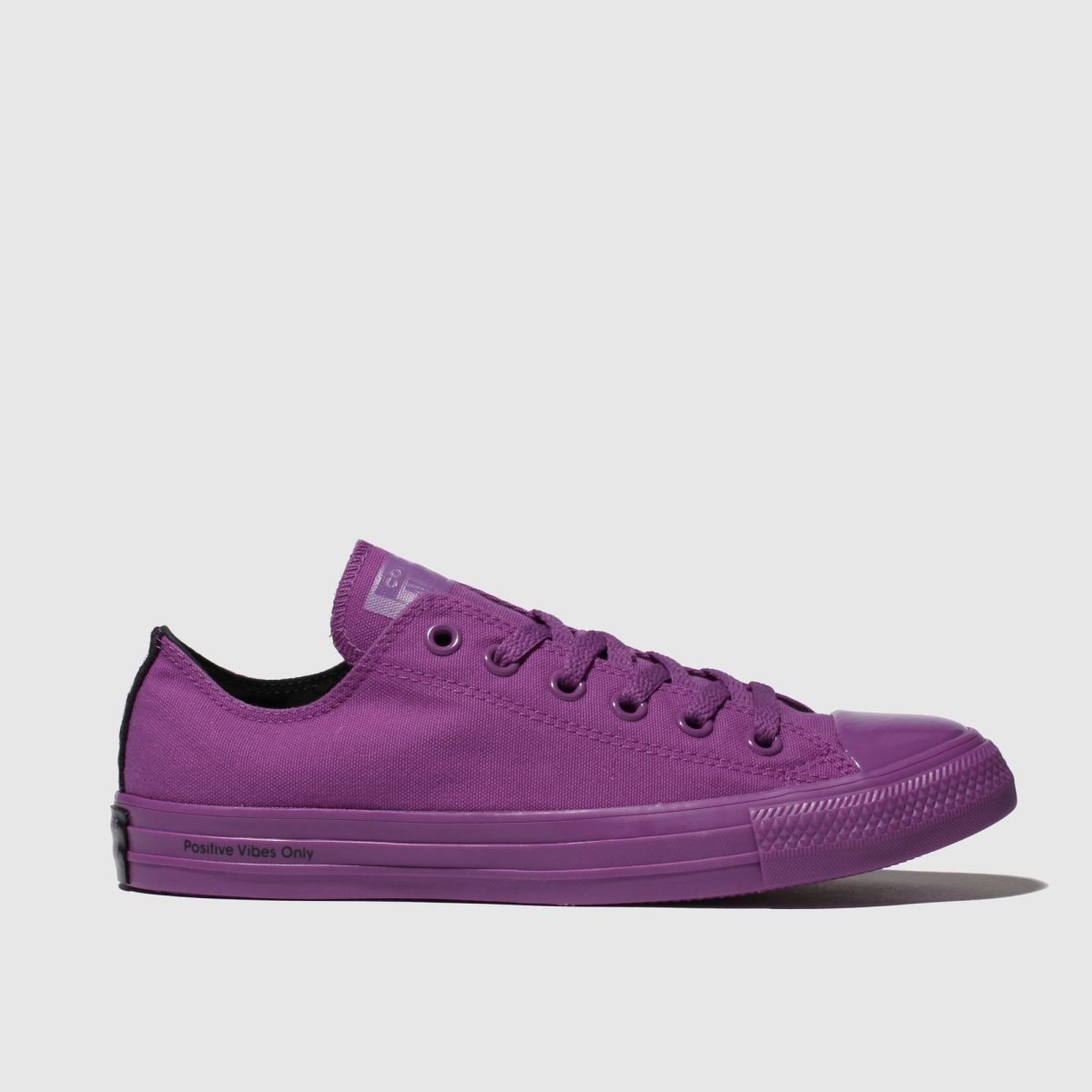Converse purple chuck taylor all star ox opi trainers