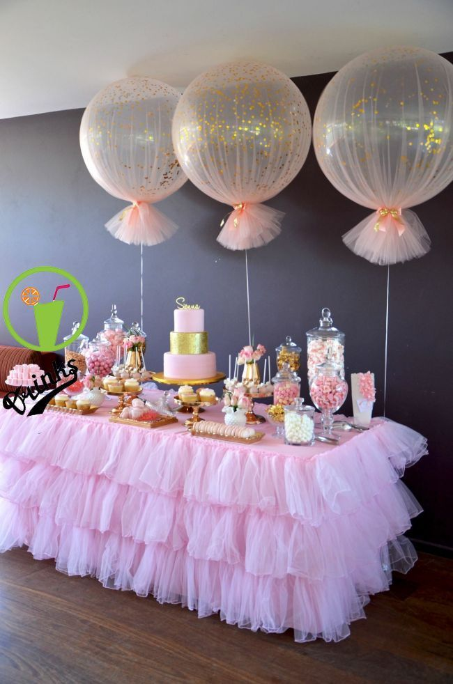 Table Arrangement In 2020 Girl Baby Shower Decorations Baby