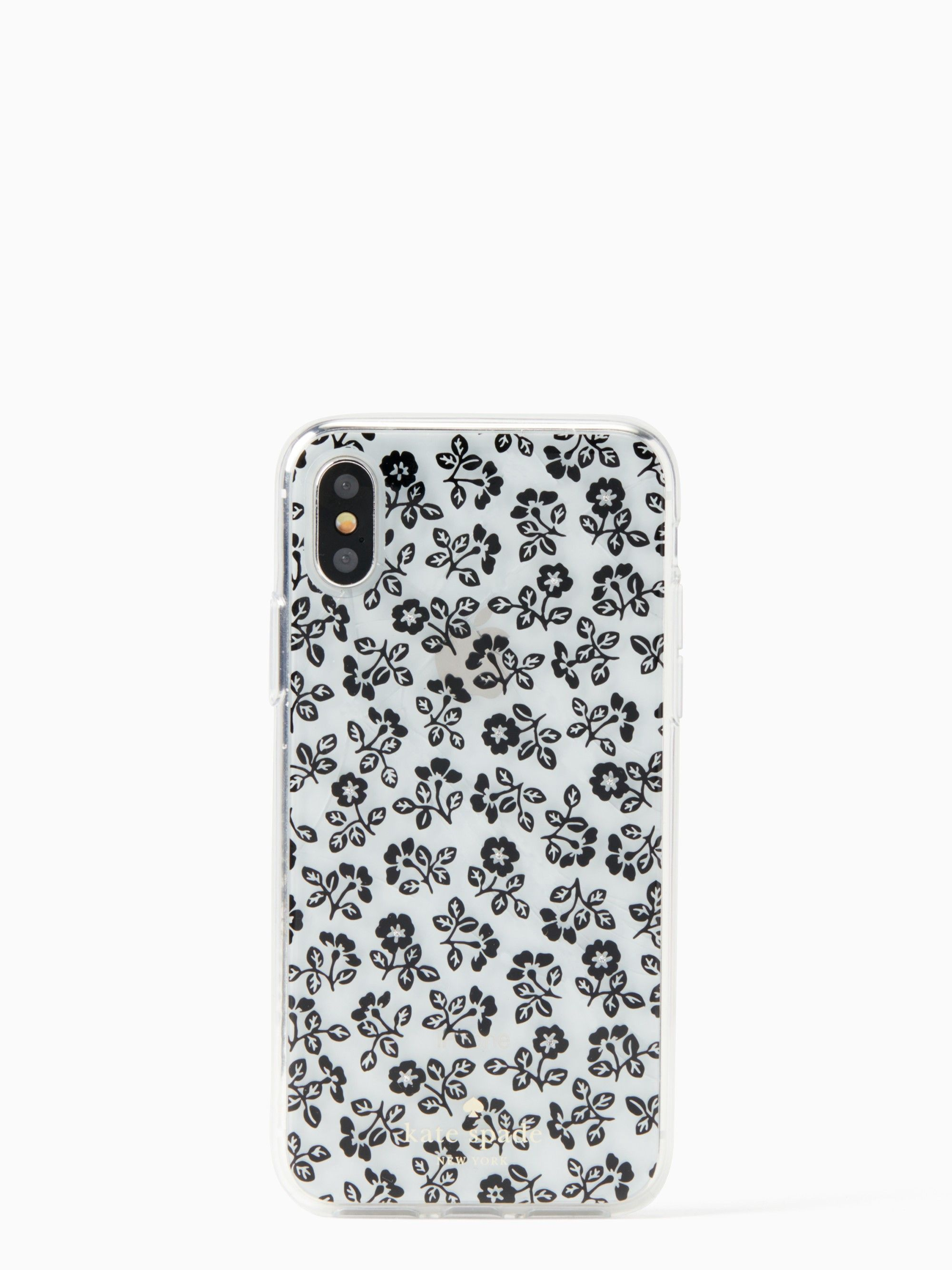 Kate Spade Jeweled Plains Iphone X Case Clear Case