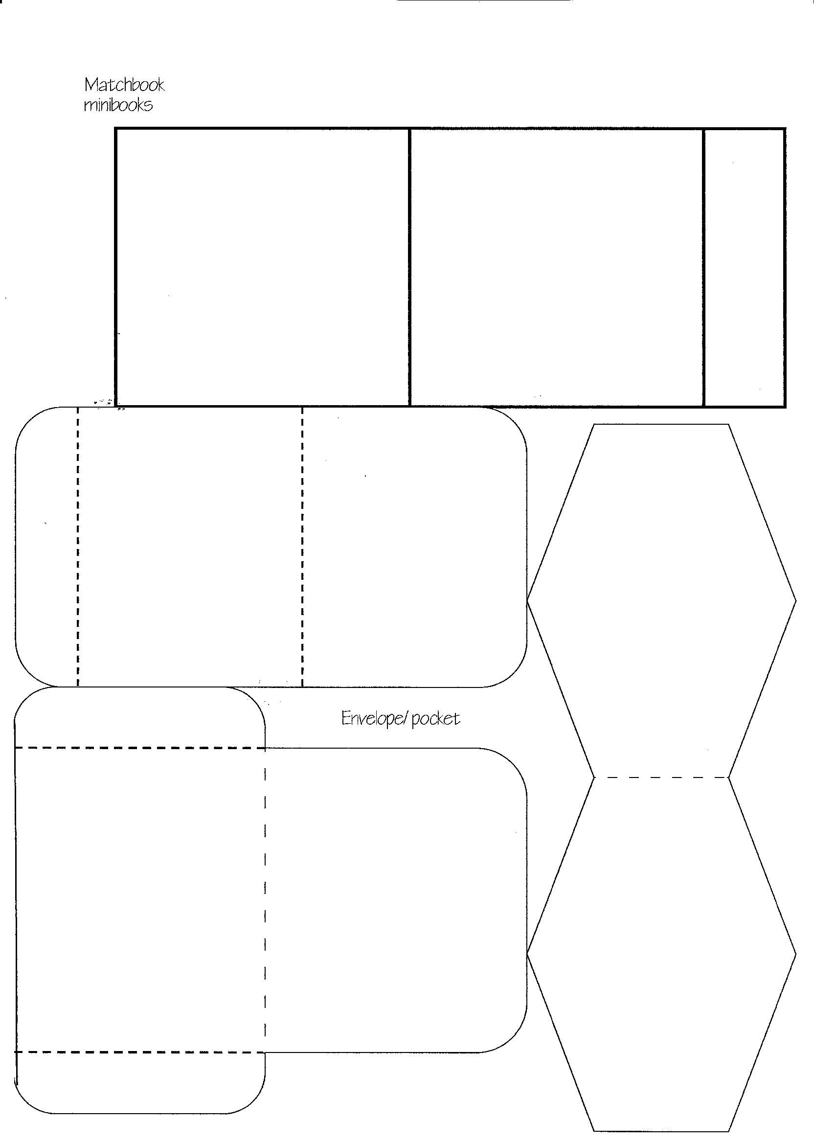 Minibook Master Template Download Earring Cards Template Card Templates Free Templates Printable Free